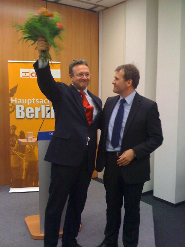 Frank Henkel, MdA nach seiner Wahl